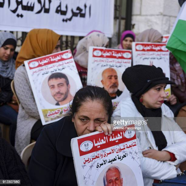 Ramallah Every Tuesday at the Red Cross headquarters in Ramallah the families of prisoners gather to demonstrate against the detention of their...
