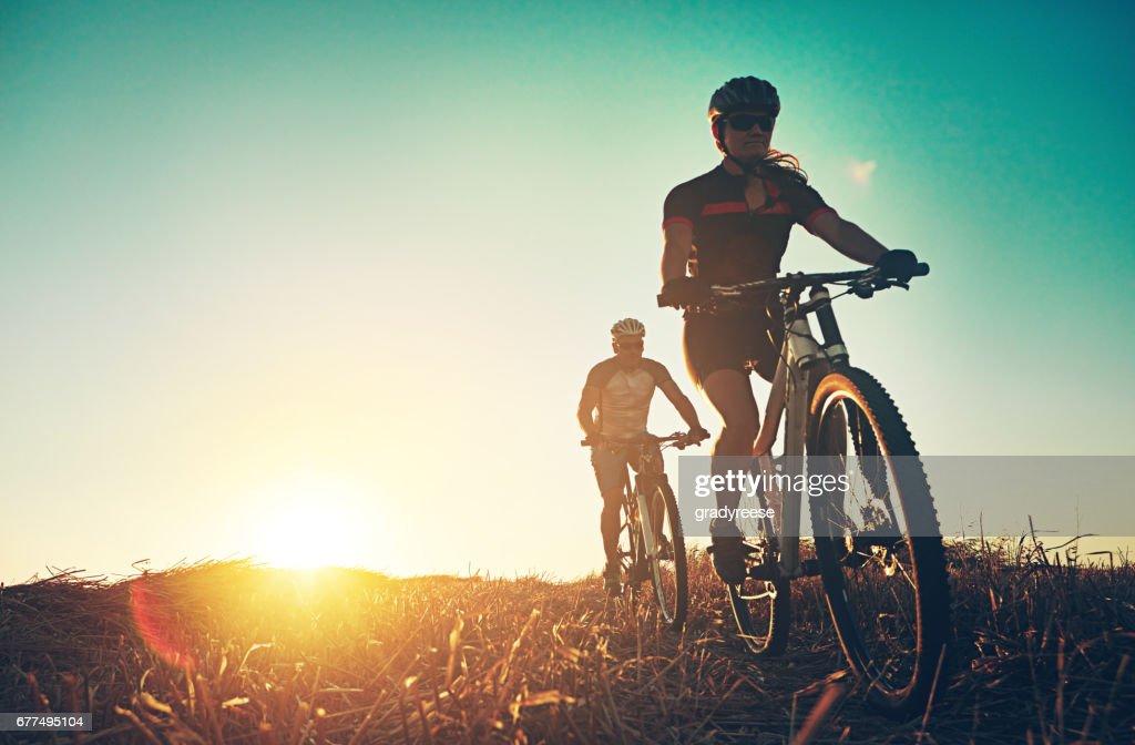 Rambling through the countryside : Stock Photo