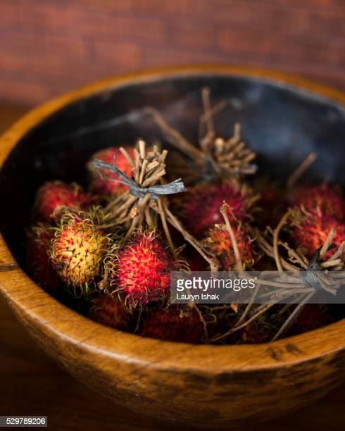 rambutan fruit - lauryn ishak stock pictures, royalty-free photos & images