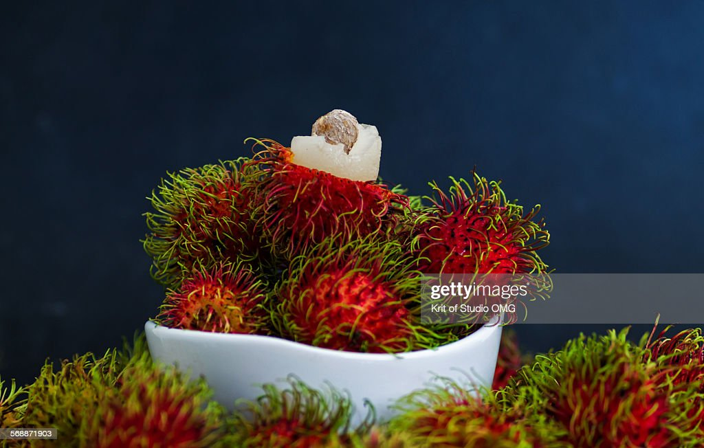 Rambutan : Stock Photo
