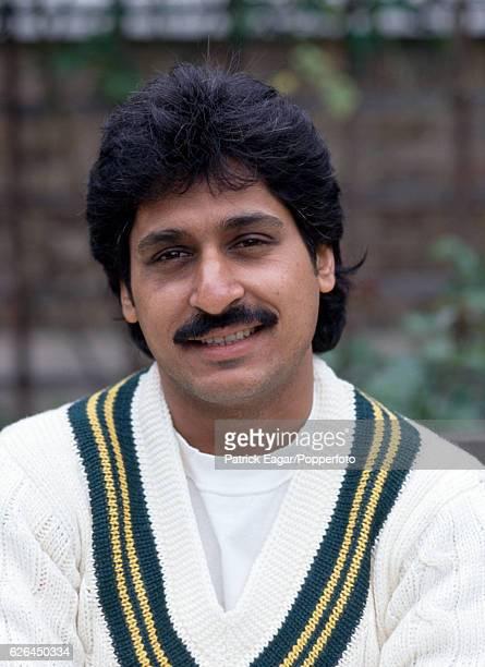 Rameez Raja of Pakistan at Lord's Cricket Ground London circa May 1992
