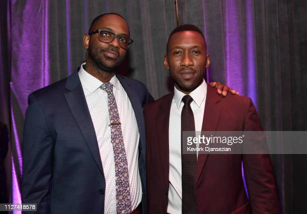 RaMell Ross and Mahershala Ali attend the 91st Oscars Nominees Luncheon at The Beverly Hilton Hotel on February 04 2019 in Beverly Hills California