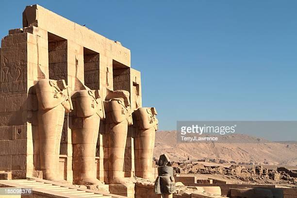 Ramesseum, Theban Necrópole, Luxor, Egito