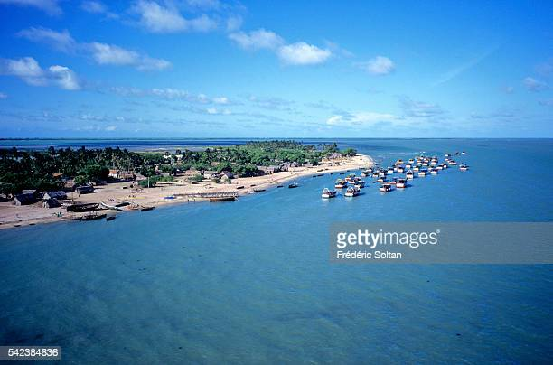 Rameswaram is located on an island separated from mainland India