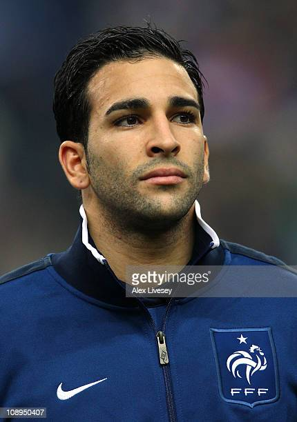 Rami Adil of France lines up prior to the International friendly match between France and Brazil at Stade de France on February 9 2011 in Paris France