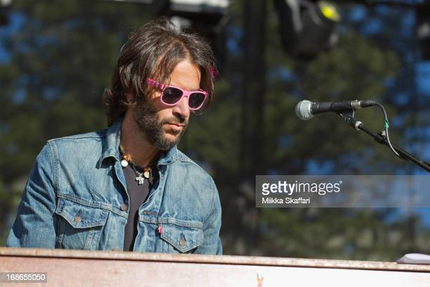 0b5748fa78b Rami Jaffee of The Wallflowers is performing on day 4 of Bottle Rock Napa  Valley Festival