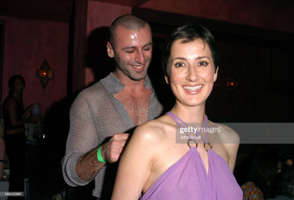 Rami Kashou and Anna Getty during 'Confessions of a Burning Man' - After Party at The Spider Club in Hollywood, California, United States.