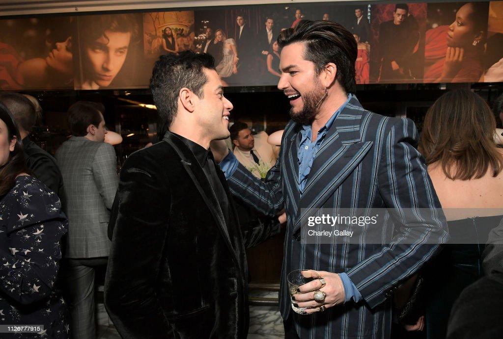 Vanity Fair And Genesis Celebrate The Cast Of Bohemian Rhapsody : News Photo