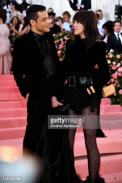 Rami Malek and Charlotte Gainsbourg attend The 2019 Met Gala Celebrating Camp Notes on Fashion at Metropolitan Museum of Art on May 06 2019 in New...