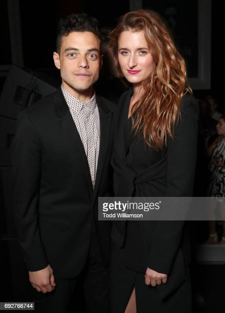 Rami Malek and Grace Gummer attend a panel and reception For USA's 'Mr Robot' at Create Nightclub on June 5 2017 in Los Angeles California