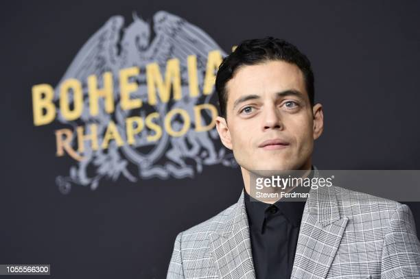 Rami Malek attends Bohemian Rhapsody New York Premiere at The Paris Theatre on October 30 2018 in New York City