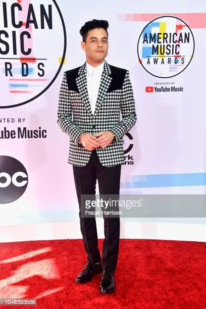 Rami Malek attends the 2018 American Music Awards at Microsoft Theater on October 9 2018 in Los Angeles California