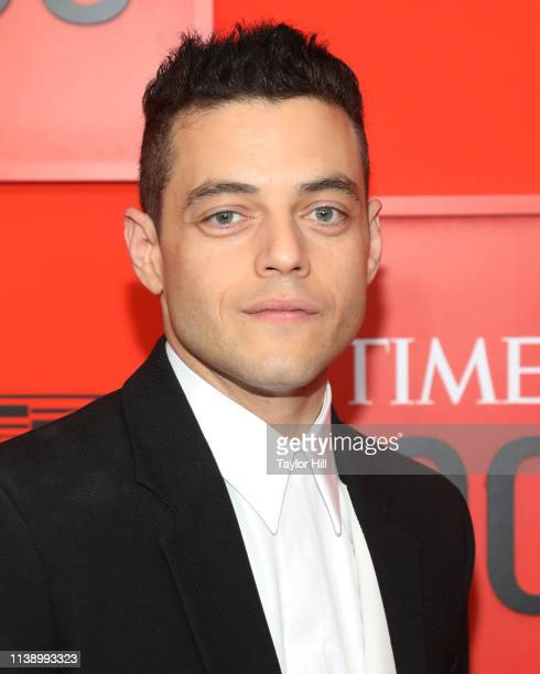 Rami Malek attends the 2019 Time 100 Gala at Frederick P Rose Hall Jazz at Lincoln Center on April 23 2019 in New York City