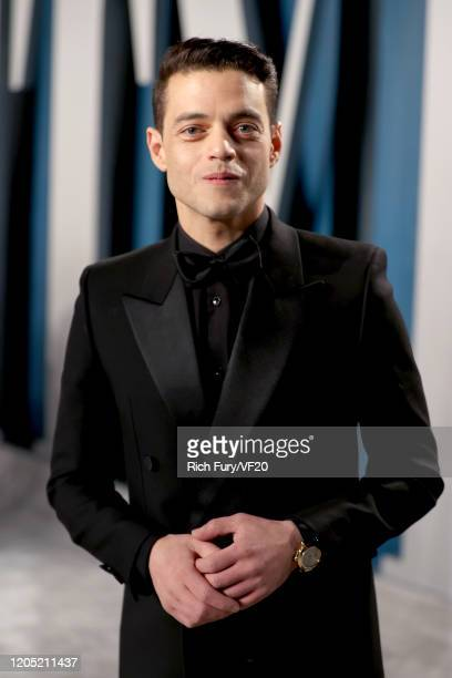 Rami Malek attends the 2020 Vanity Fair Oscar Party hosted by Radhika Jones at Wallis Annenberg Center for the Performing Arts on February 09, 2020...