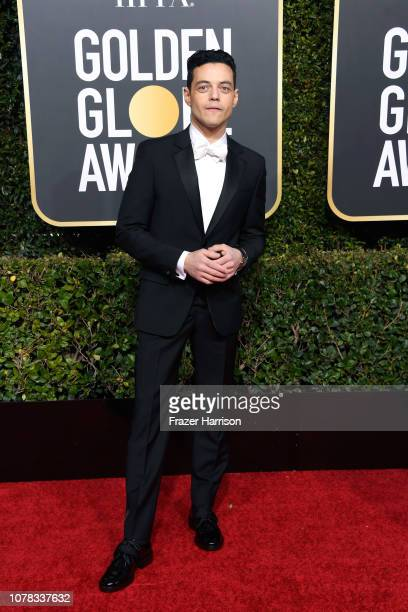 Rami Malek attends the 76th Annual Golden Globe Awards at The Beverly Hilton Hotel on January 6 2019 in Beverly Hills California