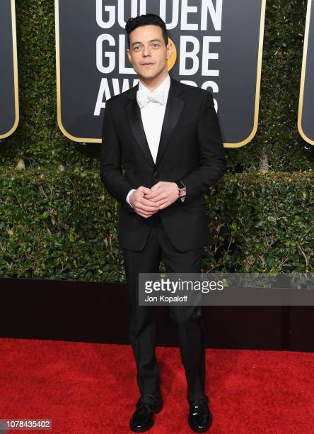 Rami Malek attends the 76th Annual Golden Globe Awards at The Beverly Hilton Hotel on January 6, 2019 in Beverly Hills, California.