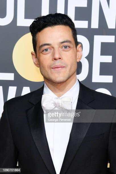 Rami Malek attends the 76th Annual Golden Globe Awards held at The Beverly Hilton Hotel on January 06, 2019 in Beverly Hills, California.