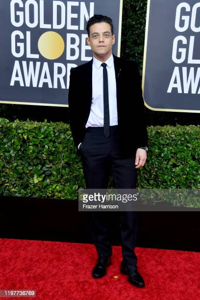 Rami Malek attends the 77th Annual Golden Globe Awards at The Beverly Hilton Hotel on January 05, 2020 in Beverly Hills, California.