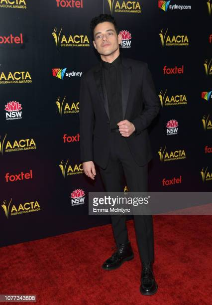 Rami Malek attends the 8th AACTA International Awards at Mondrian Los Angeles on January 4 2019 in West Hollywood California