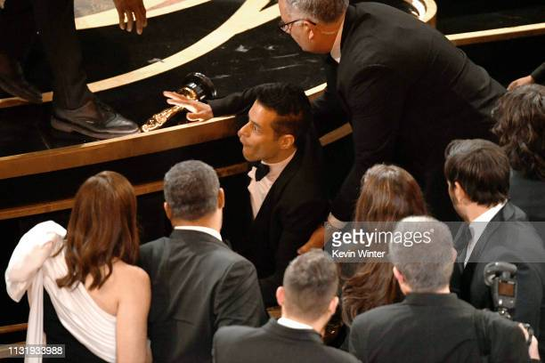 Rami Malek attends the 91st Annual Academy Awards at Dolby Theatre on February 24 2019 in Hollywood California