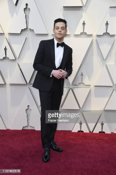 Rami Malek attends the 91st Annual Academy Awards at Hollywood and Highland on February 24 2019 in Hollywood California