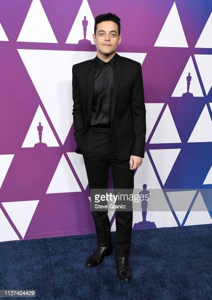 Rami Malek attends the 91st Oscars Nominees Luncheon at The Beverly Hilton Hotel on February 04 2019 in Beverly Hills California