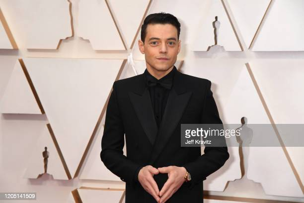 Rami Malek attends the 92nd Annual Academy Awards at Hollywood and Highland on February 09 2020 in Hollywood California