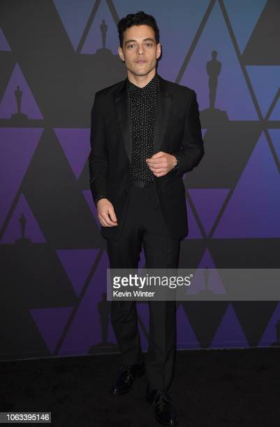Rami Malek attends the Academy of Motion Picture Arts and Sciences' 10th annual Governors Awards at The Ray Dolby Ballroom at Hollywood Highland...