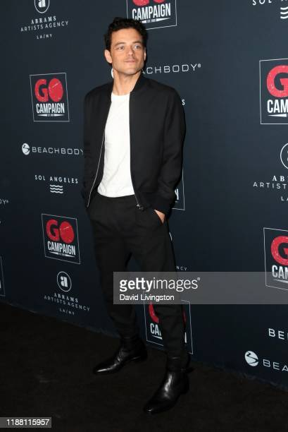 Rami Malek attends the Go Campaign's 13th Annual Go Gala at NeueHouse Hollywood on November 16 2019 in Los Angeles California