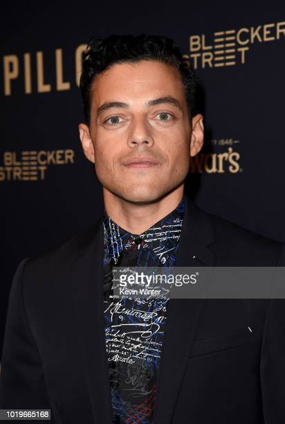 Joey McFarland Charlie Hunnam Michael Noer Rami Malek and David Koplin attend the premiere of Bleecker Street Media's 'Papillon' at The London West...