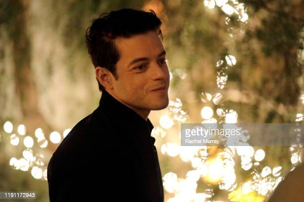 Rami Malek attends the Rocketman - Rami Malek Hosted Screening and Reception with Director Dexter Fletcher at San Vicente Bungalows on November 30,...