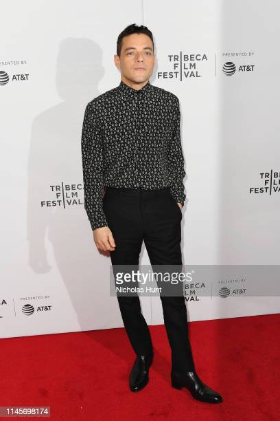 Rami Malek attends Tribeca Talks A Farewell To Mr Robot 2019 Tribeca Film Festival at Spring Studio on April 28 2019 in New York City