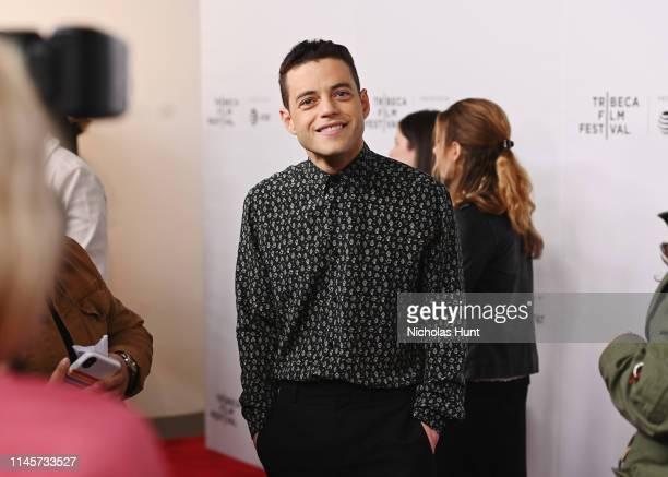 Rami Malek attends Tribeca Talks - A Farewell To Mr. Robot - 2019 Tribeca Film Festival at Spring Studio on April 28, 2019 in New York City.