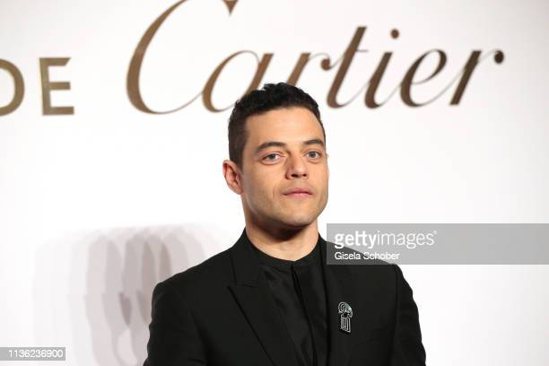 Rami Malek during the Clash de Cartier event at la Conciergerie on April 10 2019 in Paris France