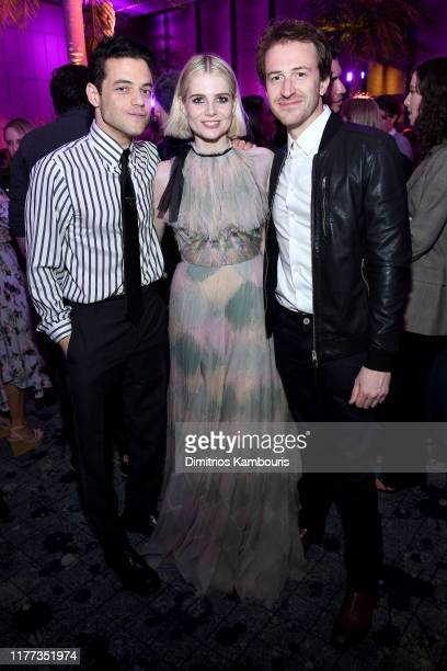 Rami Malek Lucy Boynton and Joseph Mazzello attend Netflix's The Politician Season One Premiere After Party at THE POOL on September 26 2019 in New...