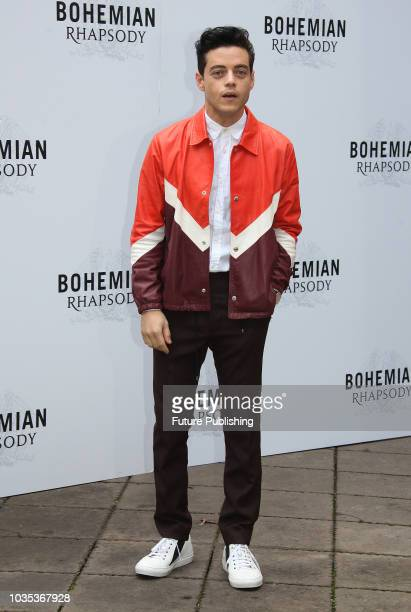 Rami Malek poses during a photocall of the film Bohemian Rhapsody on September 18 2018 in Rome Italy Marco Ravagli / Barcroft Images