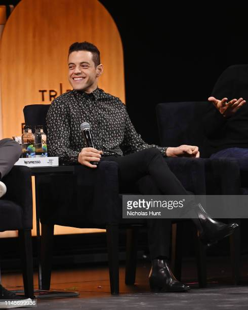 Rami Malek Speaks at Tribeca Talks A Farewell To Mr Robot 2019 Tribeca Film Festival at Spring Studio on April 28 2019 in New York City