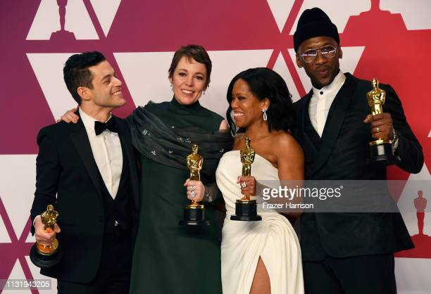 Rami Malek winner of Best Actor for Bohemian Rhapsody Olivia Colman winner of Best Actress for The Favourite Regina King winner of Best Supporting...