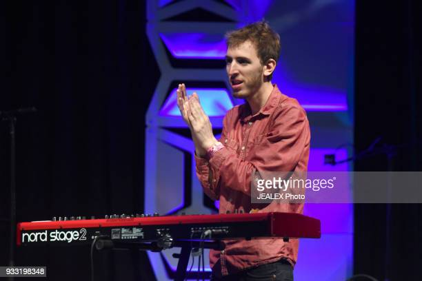 Rami Osservaser of Lola Marsh performs onstage at International Day Stage during SXSW on March 17 2018 in Austin Texas