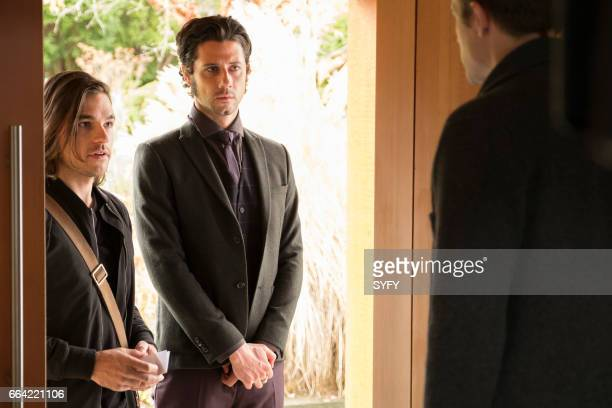 THE MAGICIANS Ramifications Episode 212 Pictured Jason Ralph as Quentin Hale Appleman as Eliot
