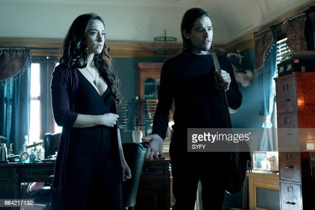 THE MAGICIANS Ramifications Episode 212 Pictured Stella Maeve as Julia Jason Ralph as Quentin