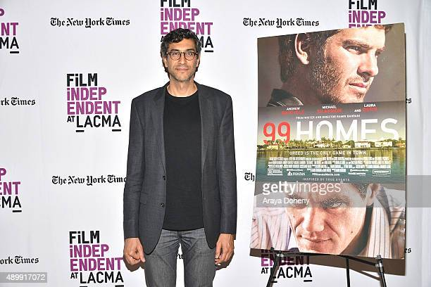 """Ramin Bahrani attends the Film Independent at LACMA screening and Q&A of """"99 Homes"""" at Bing Theatre At LACMA on September 24, 2015 in Los Angeles,..."""