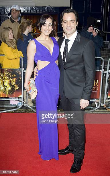 Ramin Karimloo And Mandy Karimlo Arrives At The 2011 Lawrence Olivier Awards At The Theatre Royal In London