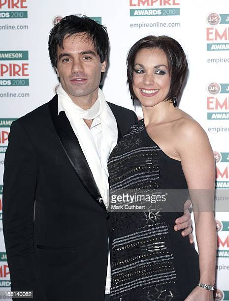 Ramin Karimloo And Mandy Karimloo Arrive At The Jameson Empire Film Awards 2010 Held At The Grosvenor House Hotel In Central London