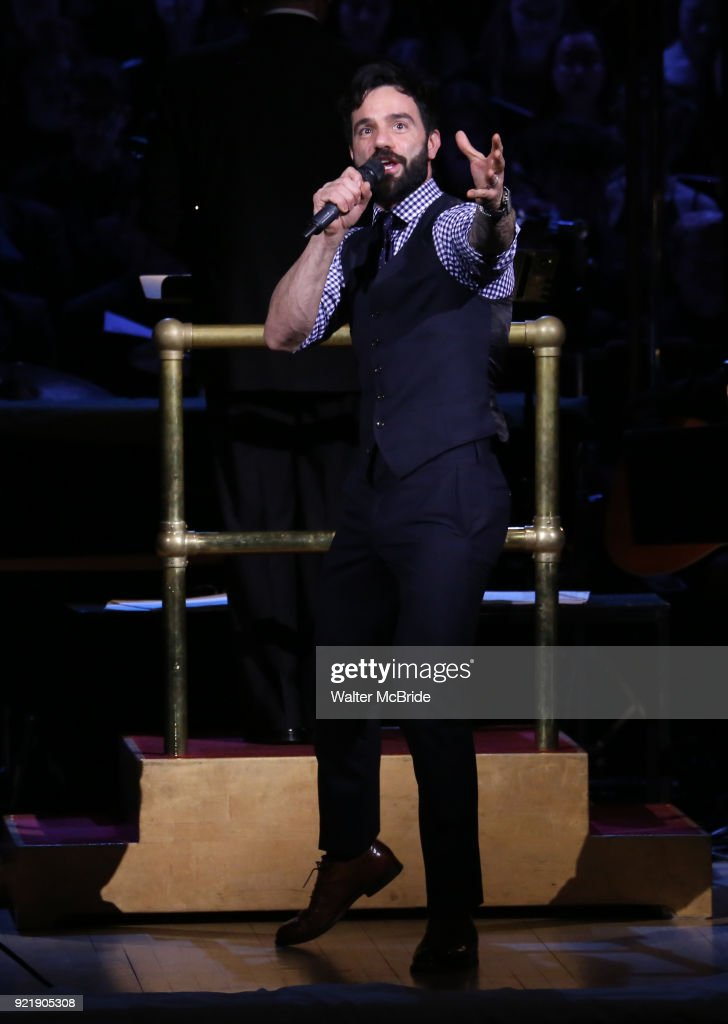 Ramin Karimloo during the Manhattan Concert Productions Broadway Classics in Concert at Carnegie Hall on February 20, 2018 at Carnegie Hall in New York City.