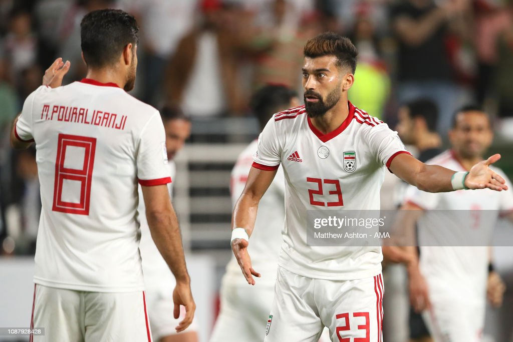 China v Iran - AFC Asian Cup Quarter Final : Foto jornalística