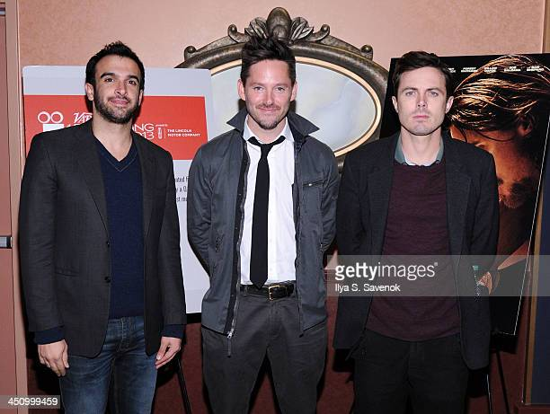 Ramin Setoodeh Scott Cooper and Casey Affleck attend the 2013 Variety Screening Series of 'Out Of The Furnace' at AMC Loews 34th Street 14 theater on...