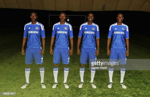 Ramires of Chelsea during a Chelsea magazine feature at the Cobham training ground on December 16 2011 in Cobham England