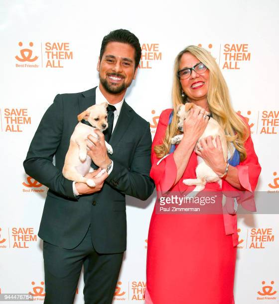 R Ramirez and CEO of Best Friends Animal Society Julie Castle attend 3rd Annual Best Friends Animal Society New York City Gala at Guastavino's on...