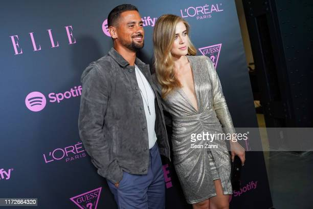 R Ramirez and Melissa Roxburgh attend Nina Garcia Jameela Jamil E Entertainment Host ELLE Women In Music Presented by Spotify at The Shed on...